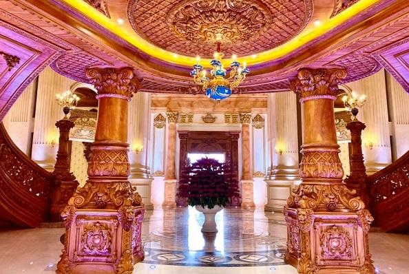 """Bên trong cung điện """"nghìn tỷ"""" ở Ninh Bình nguy nga nhất Việt Nam"""