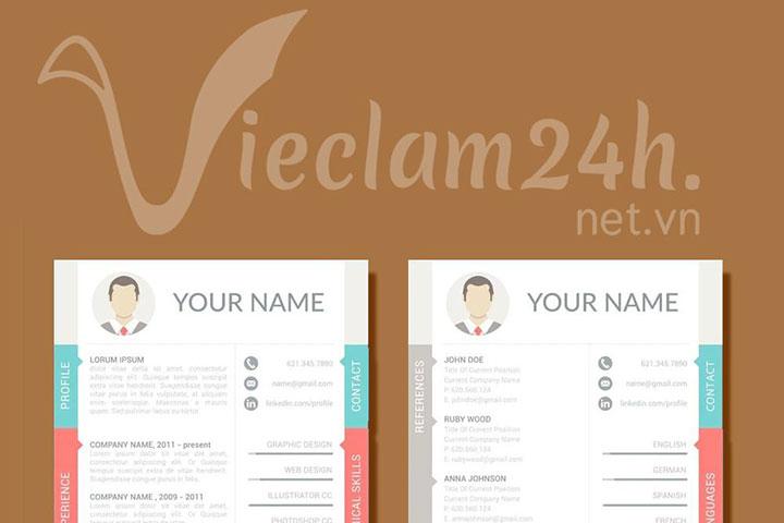 CV vieclam24h.net.vn - Nhẹ bẫng bước vào ngưỡng cửa của sự nghiệp