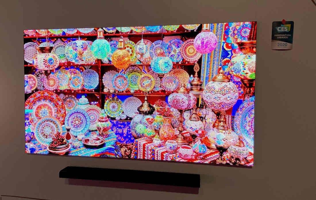 Công nghệ màn hình microLED, thế hệ sau của OLED, gây sốt tại CES 2020