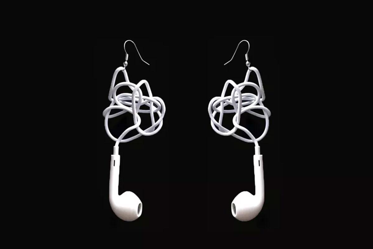 Biến EarPods bị rối dây thành đồ trang sức