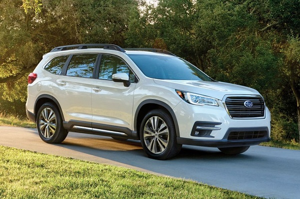 Subaru Ascent 2020 cạnh tranh trực tiếp Ford Explorer, giá trên 2 tỷ đồng
