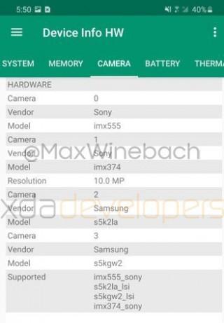 Các hình ảnh rò rỉ mới cho thấy những tính năng camera có trên Samsung Galaxy S20+