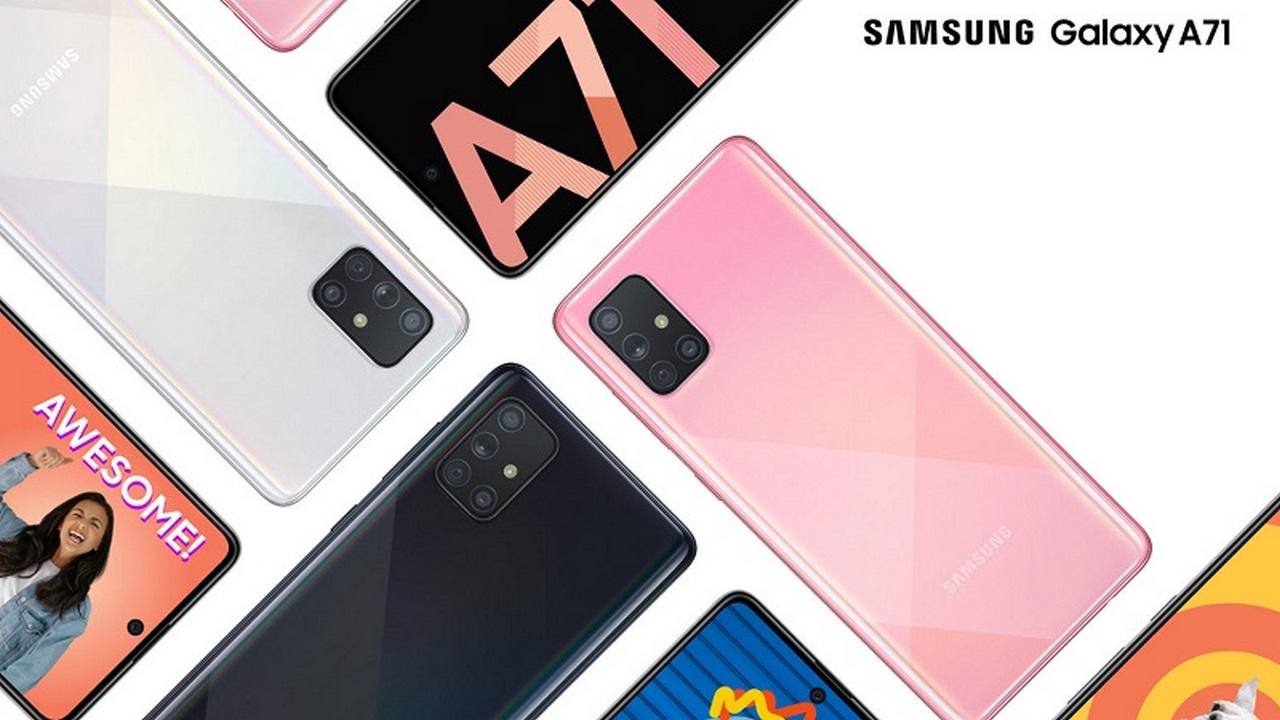 Samsung ra mắt Galaxy A71 tại Việt Nam: chiếc Galaxy đầu tiên có 4 camera 64MP, tiếp tục dùng màn hình nốt ruồi, camera macro, giá 10,5 triệu đồng