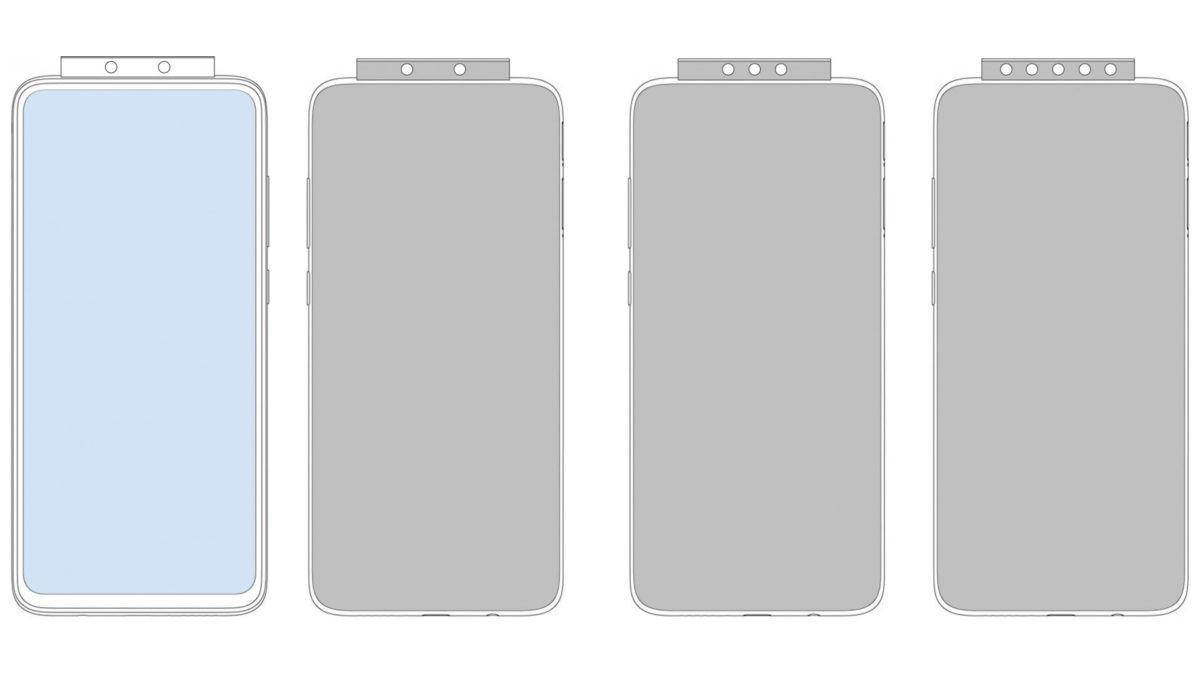 Xiaomi có thể tung ra một thiết bị, có cụm camera bật lên di chuyển với số lượng 7 cảm biến?