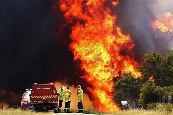 Khói từ cháy rừng ở Úc đã chạm tới tầng bình lưu!