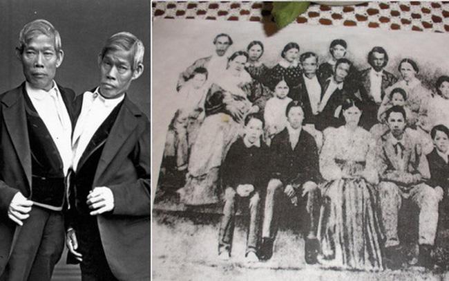 Cuộc sống kì lạ của cặp song sinh dính liền nhau nhưng vẫn mỗi người một vợ, sinh liền tù tì 21 người con