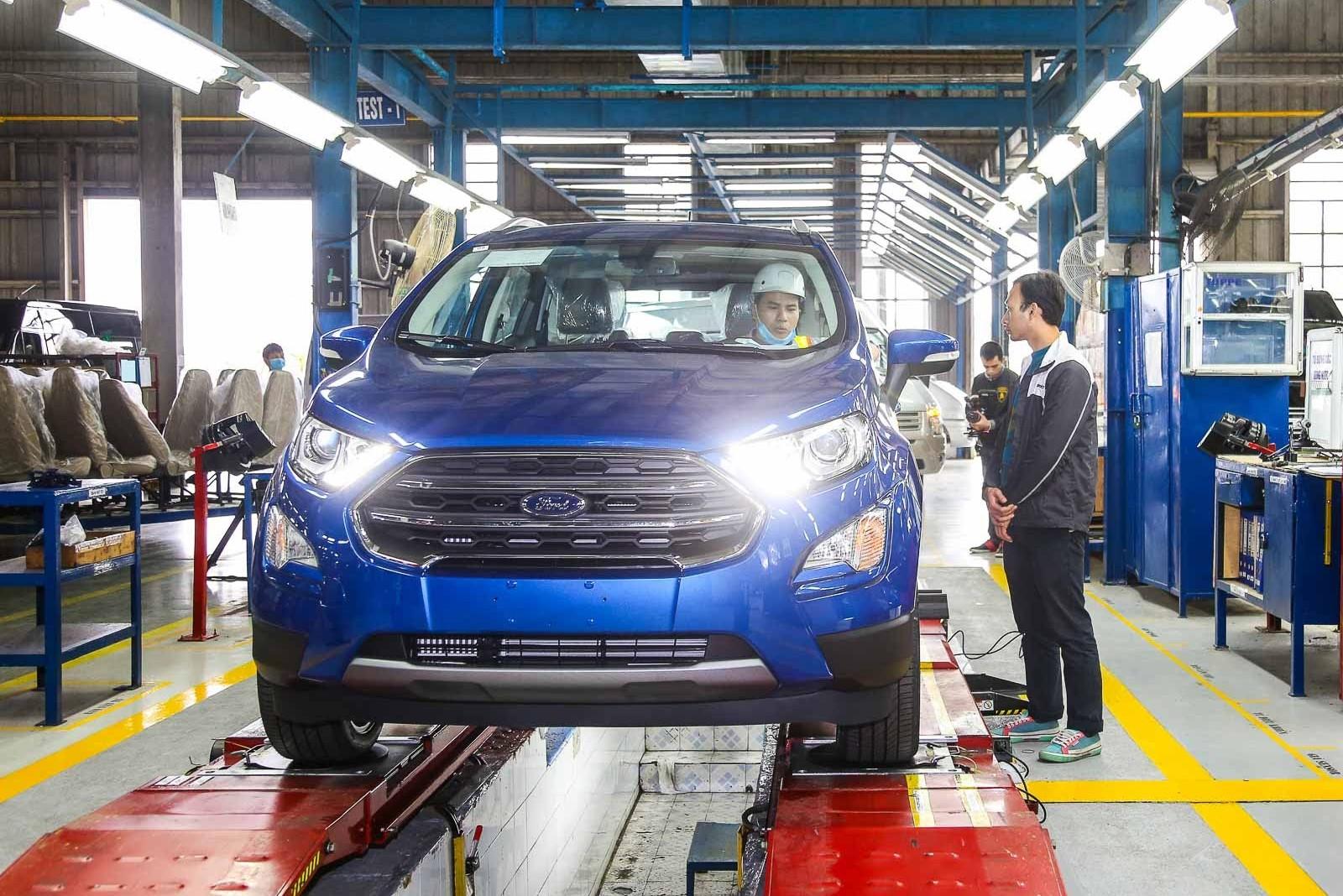 Ford Việt Nam đầu tư hơn 1,9 nghìn tỷ đồng mở rộng nhà máy Hải Dương, quyết đấu Toyota, Thaco?