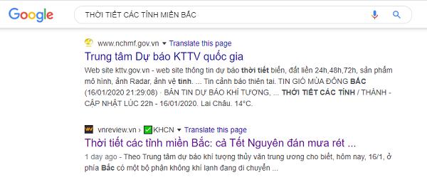 Giao diện kết quả tìm kiếm của Google có sự thay đổi, bạn có nhận ra?