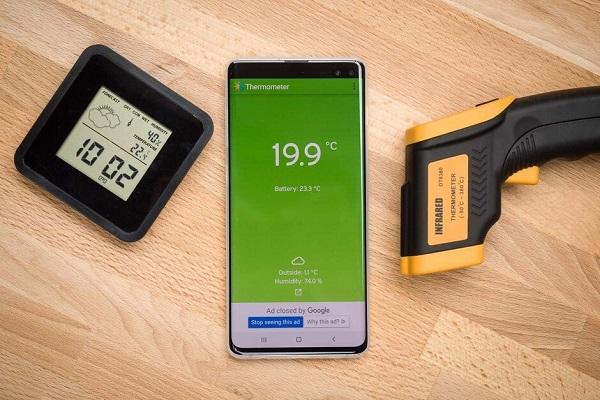 Tại sao không hãng nào làm smartphone có thể đo nhiệt độ như nhiệt kế?