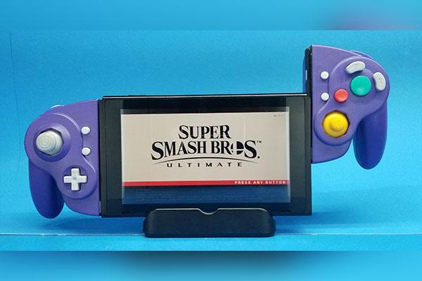 Thanh niên 'độ' tay cầm Gamecube dành cho Nintendo Switch