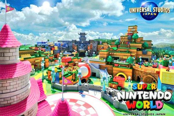 Nhật Bản mở công viên Nintendo giúp bạn trở về tuổi thơ với Mario, Luigi...