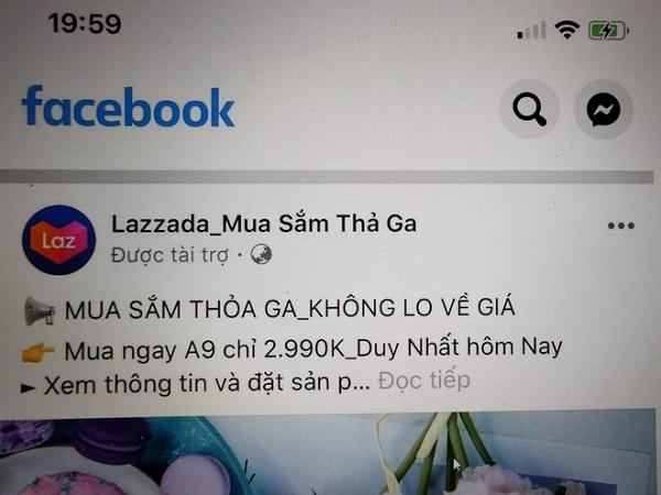 Mạo danh Lazada bán Samsung Galaxy A9 giá rẻ một nửa