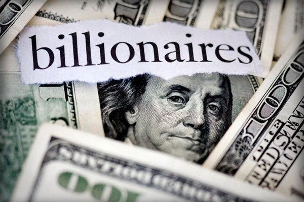Sốc: 2.153 tỷ phú giàu hơn cả 4,6 tỷ người cộng lại!
