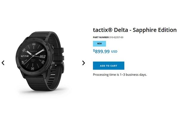 Garmin ra mắt chiếc smartwatch Tactix Delta, giá cực đắt với một nút gạt để xóa sạch dữ liệu