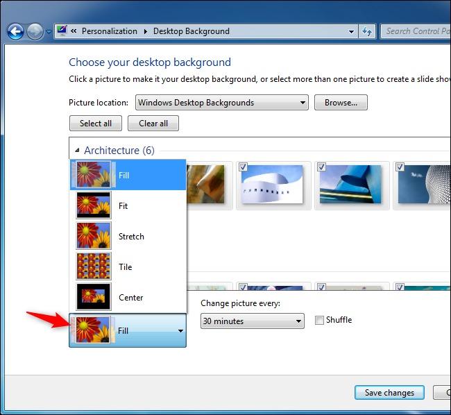 Cách khắc phục lỗi hình nền đen trên Windows 7
