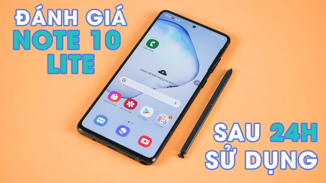 Đánh giá Galaxy Note 10 Lite sau 24h sử dụng: có xứng với giá 14 củ???