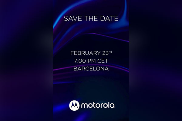 Motorola sắp giới thiệu 3 smartphone mới tại MWC 2020