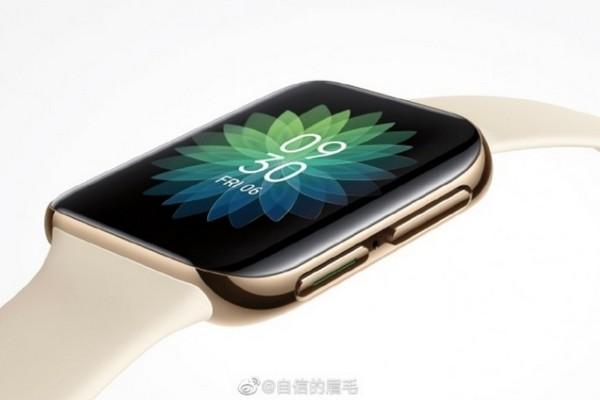 Ảnh rò rỉ smartwatch đầu tiên của Oppo bị chê đạo nhái Apple Watch