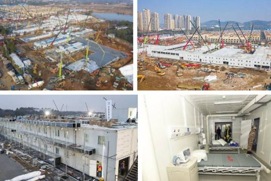 Làm cách nào mà Trung Quốc xây bệnh viện dã chiến chống Corona chỉ trong 10 ngày?