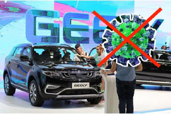 Hãng ô tô Trung Quốc Geely chi 370 triệu tệ sản xuất xe chống virus corona