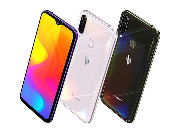VinGroup ra mắt Vsmart Joy 3: smartphone 2 triệu đồng có Snapdragon 632, 3 camera, pin 5.000 mAh