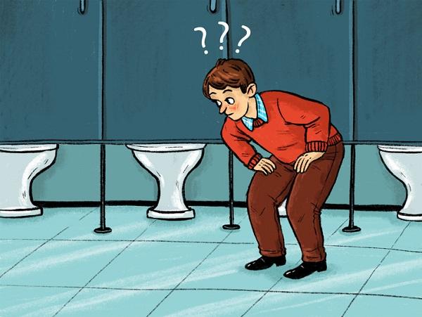 Tại sao cửa nhà vệ sinh công cộng lại hở ở dưới?