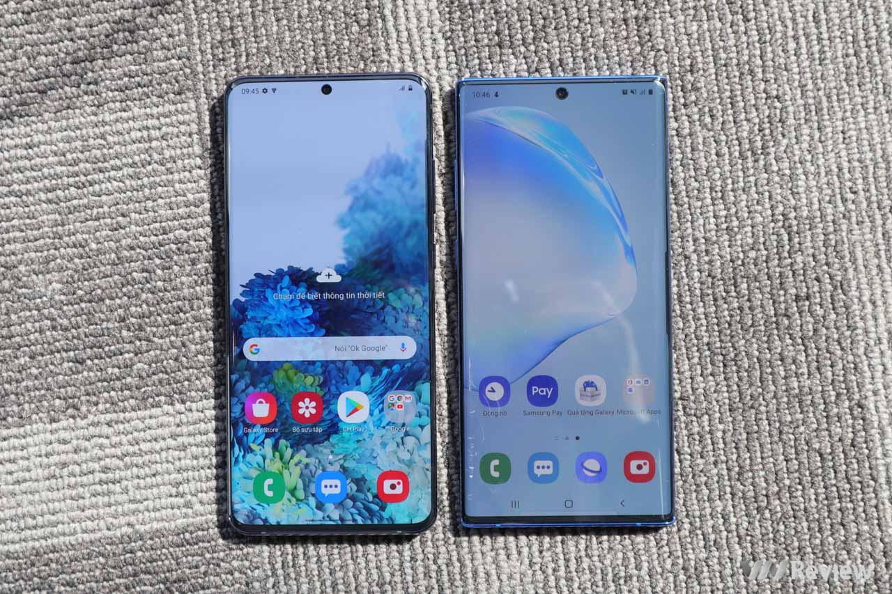 Trên tay bộ 3 Galaxy S20, S20+ và S20 Ultra đầu tiên tại Việt Nam