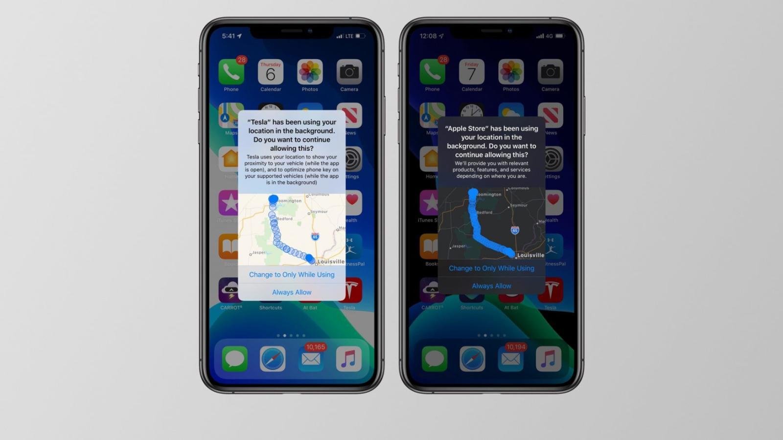 Tại sao iPhone luôn liên tục hỏi về việc ngầm sử dụng dữ liệu vị trí