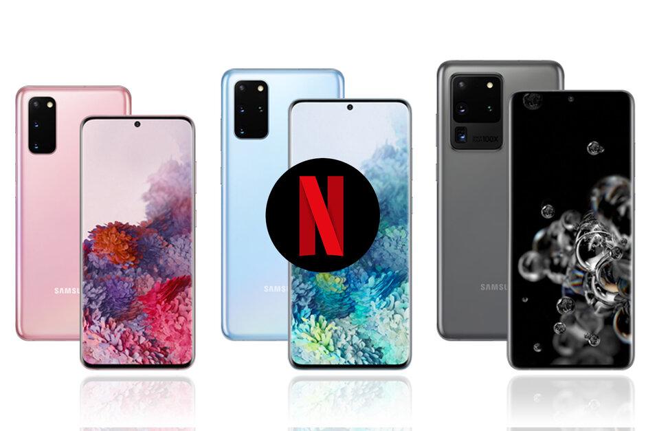 Netflix hợp tác với Samsung, mang đến một số tính năng độc quyền cho dòng điện thoại Galaxy S20