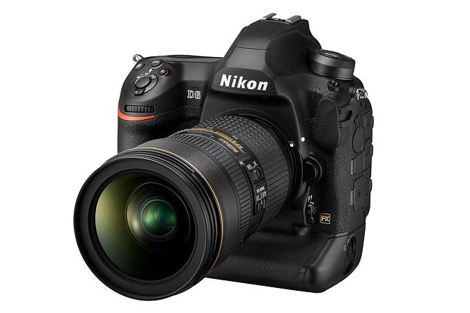 Dòng máy ảnh chuyên nghiệp Nikon D6 chính thức