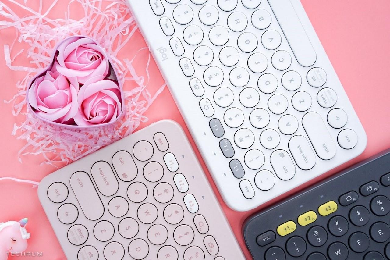 """Logitech ra mắt phiên bản Valentine cho bàn phím Bluetooth """"huyền thoại"""" K380, giá 579 nghìn đồng"""