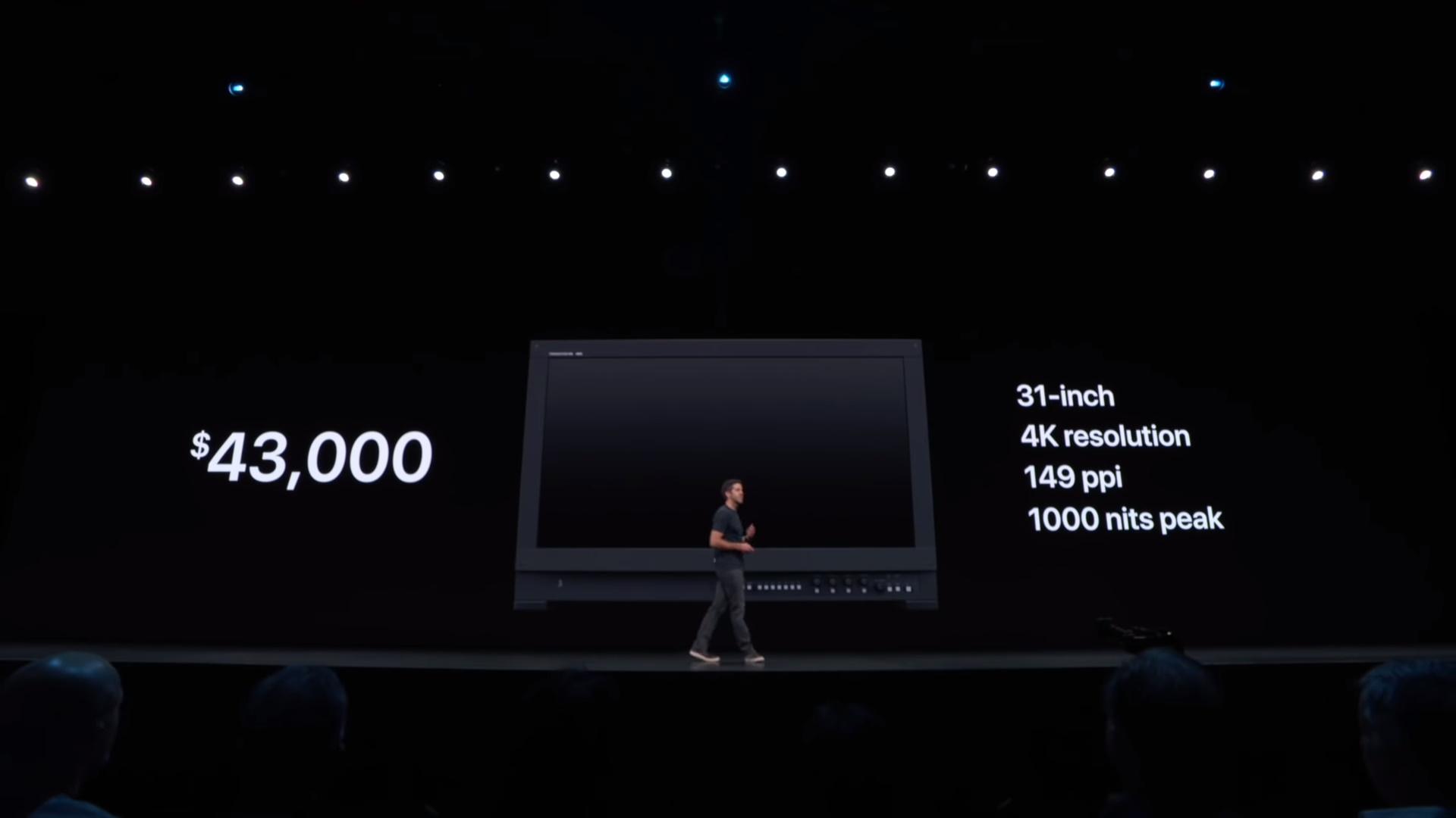 Bóc mẽ màn hình Apple 5.000 USD: không thể bằng đồ chuyên nghiệp Sony như hãng đã quảng cáo