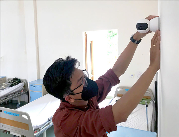 Xiaomi Việt Nam tặng 20 camera giám sát từ xa cho bệnh viện dã chiến Củ Chi