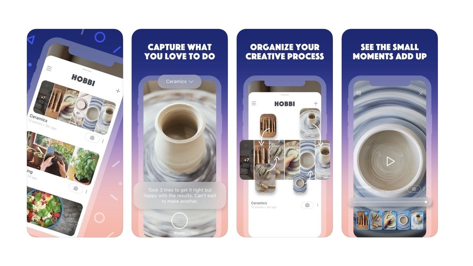 Facebook thử nghiệm ứng dụng Hobbi, hướng tới những người dùng dịch vụ Pinterest