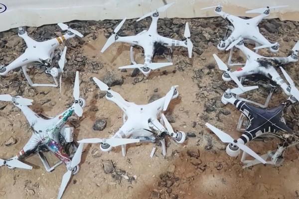 Xem cảnh hệ thống bắn drone của Israel xử lý một chiếc drone chỉ sau vài giây