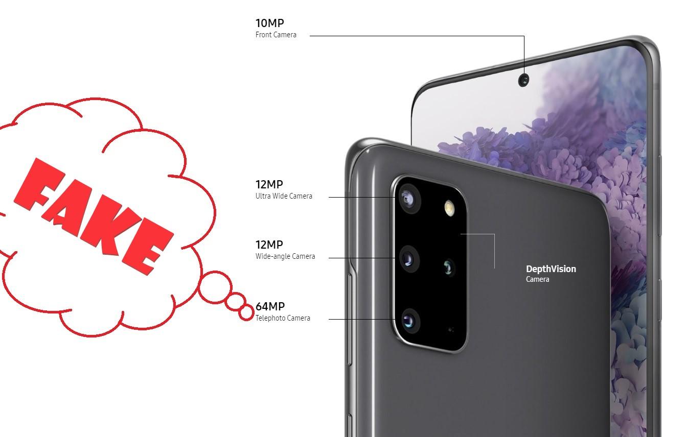 Buồn quá: Samsung đã lừa dối chúng ta về ống kính tele zoom trên Galaxy S20 và S20+
