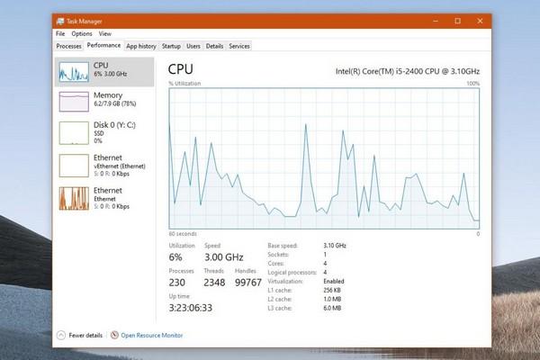 Hàng loạt người thỉnh cầu Microsoft đưa chế độ tối vào Task Manager trên Windows 10