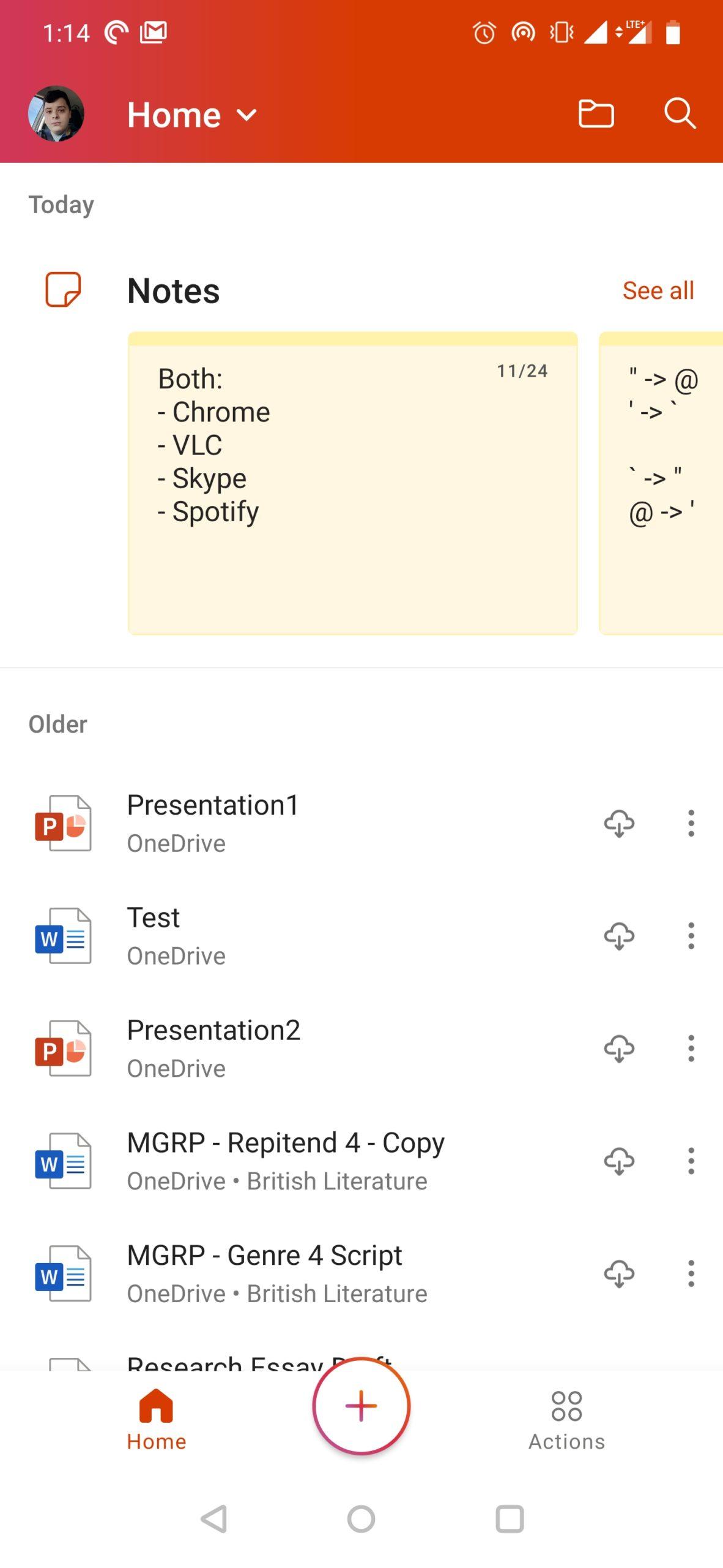 Ngày trước, bạn có thể xem và chỉnh sửa các file Google Docs từ một ứng dụng Drive duy nhất, thế nhưng, sau đó, Google đã chia chúng thành nhiều ứng dụng chỉnh sửa. Giờ đây, Microsoft đang làm điều người lại: họ gộp các phiên bản Android của Word, Excel và PowerPoint vào một ứng dụng duy nhất.