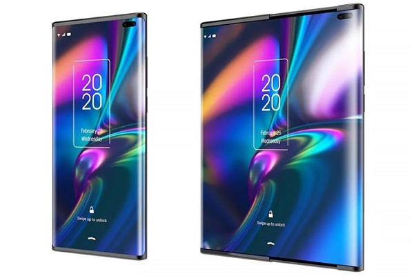Smartphone mới của TCL có thể mở rộng màn hình mà không cần đến cơ chế gập