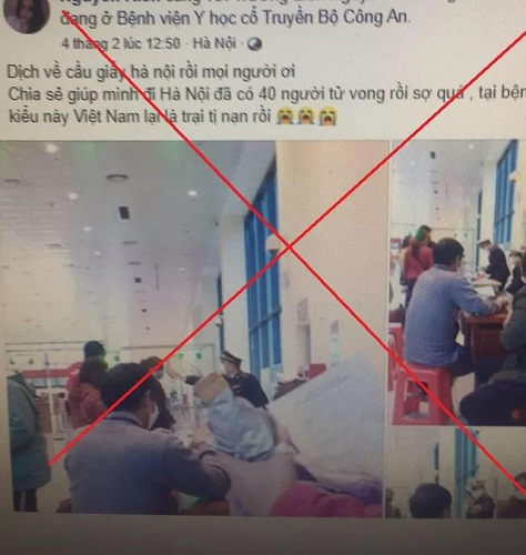 """Bịa đặt """"dịch về Cầu Giấy"""", 9X Hà Nội bị phạt 12,5 triệu đồng"""