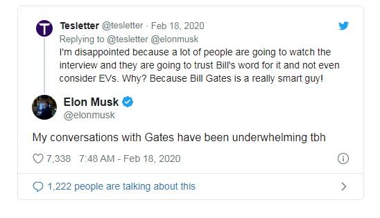 Elon Musk nói xấu Bill Gates ngay sau khi ông mua một chiếc Porsche