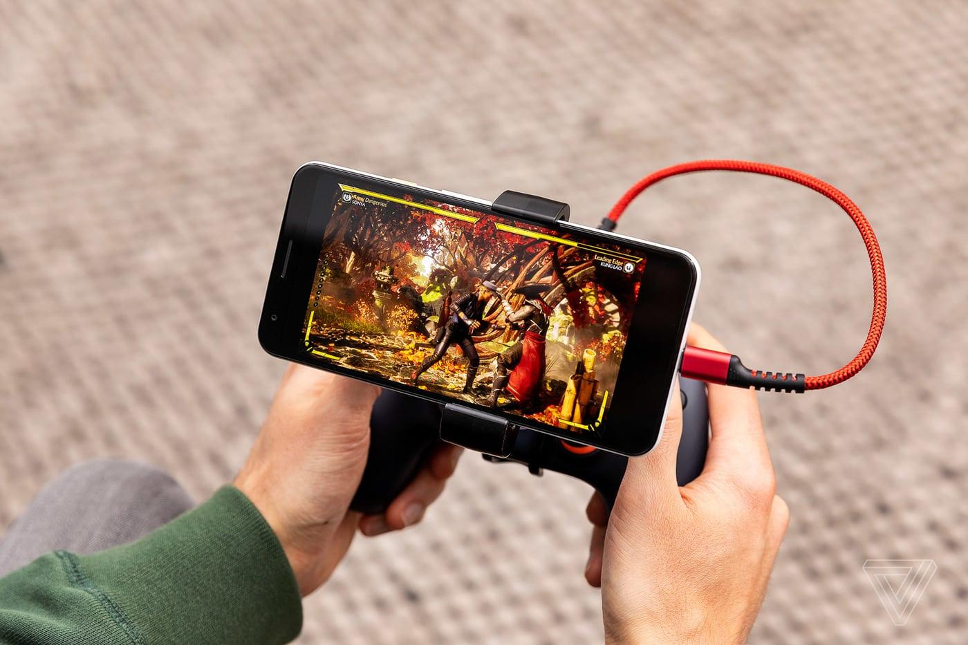Google Stadia sẽ có mặt trên các dòng điện thoại của Samsung, Asus và Razer