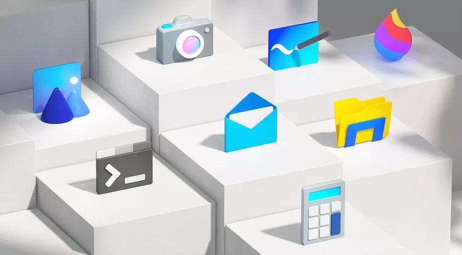 Microsoft tung ra bộ biểu tượng mới đầy màu sắc cho Windows 10