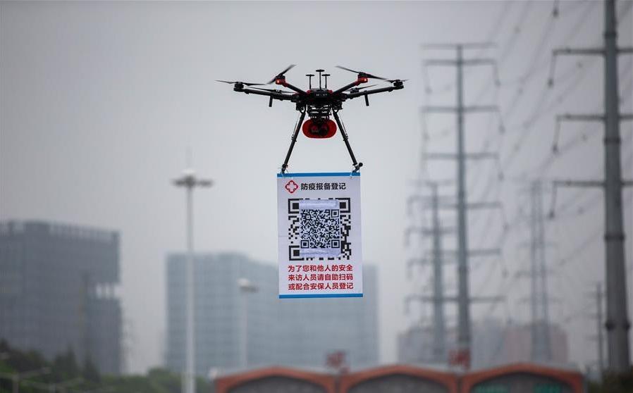 Trung Quốc sử dụng drone theo cách chưa từng có để chống Covid-19
