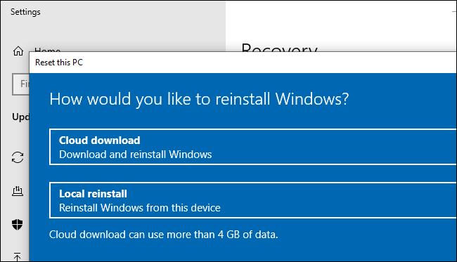 Có gì mới trong bản cập nhật Windows 10 20H1, ra mắt vào mùa xuân năm 2020? (phần 1) | Windows 10 được bổ sung thêm tuỳ chọn