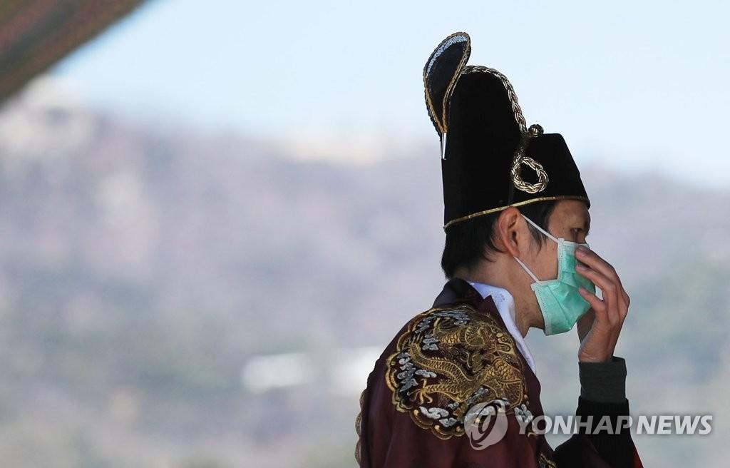 Quang cảnh tại Hàn Quốc, một trong ba nước có nhiều ca bệnh nhất thế giới
