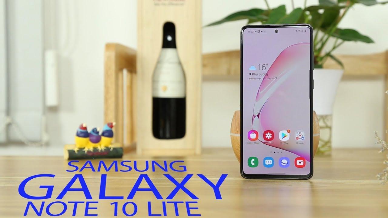 """Đánh giá Samsung Galaxy Note 10 Lite: Nước đi """"lạ thường"""" của Samsung"""