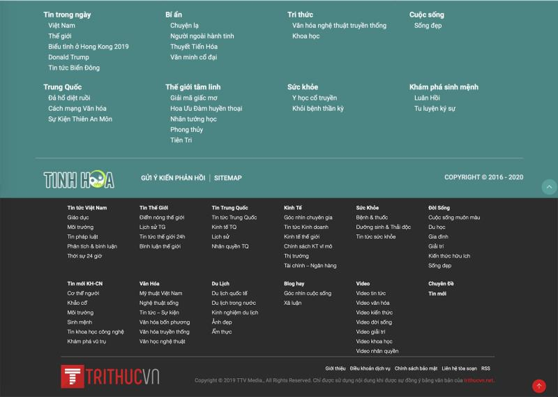 Đại Kỷ Nguyên, tinhhoa.net, trithucvn.net là những trang tin giả, bất hợp pháp tại Việt Nam