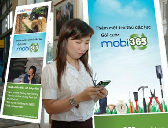 MobiFone ngừng cung cấp gói cước Mobi365 và Mobi4U