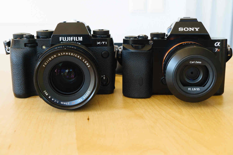 Ba lợi thế mà máy ảnh Sony vượt trội hơn Fujifilm